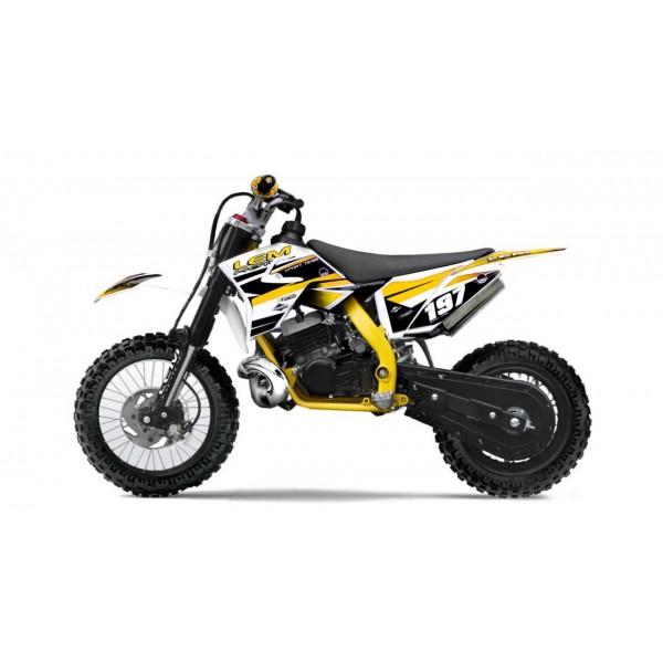 Pitbike 10/12 50cc yellow