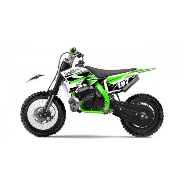 Pitbike 10/12 50cc green/ Ρωτήστε μας τιμη και διαθεσιμοτητα