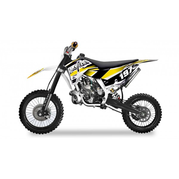 Pitbike XL 65cc yellow