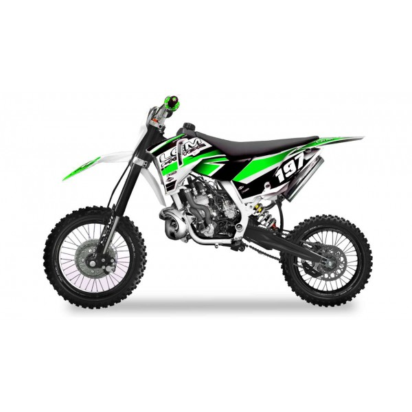 Pitbike XL 65cc green