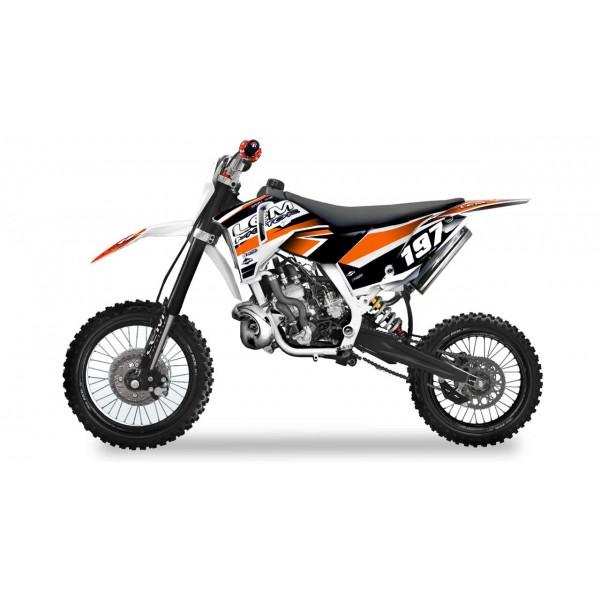 Pitbike XL 65cc orange