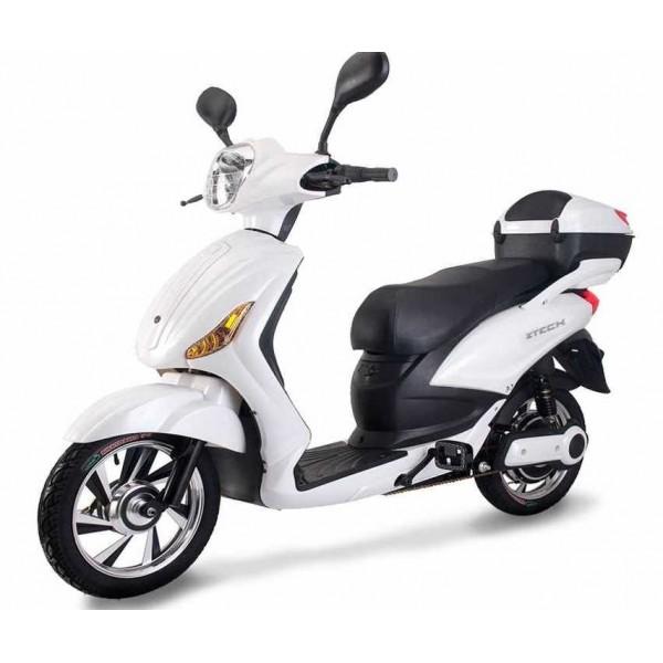 Z-Tech scooter 250 white 100% ΗΛΕΚΤΡΟΚΙΝΗΤΟ